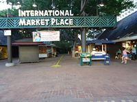 International Marketplace Sign